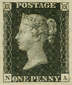 Briefmarken geerbt, Penny Black